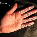 Пальцы на английском